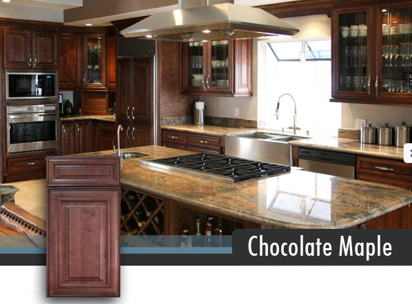 Chocolate Maple Central Florida Kitchen And Bath